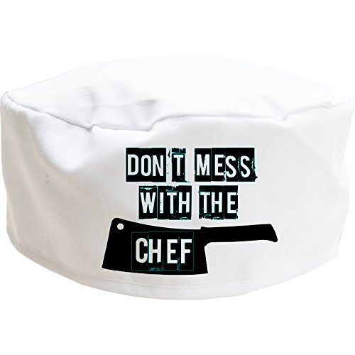 Cookify Don 't Mess con el Gorro de Chef Tapa de...