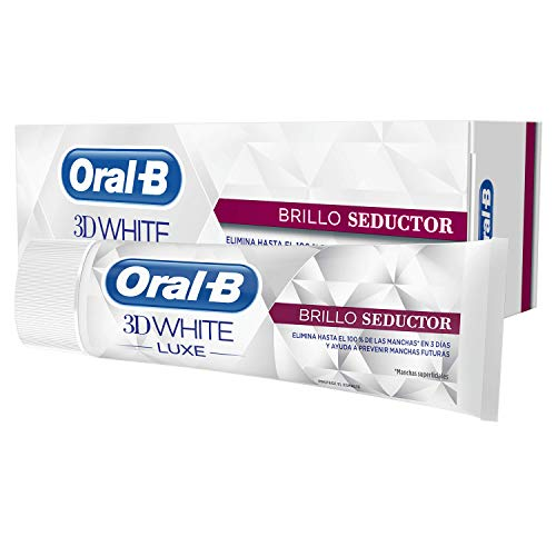Oral-B 3D White Luxe Brillo Glamoroso, Pasta...