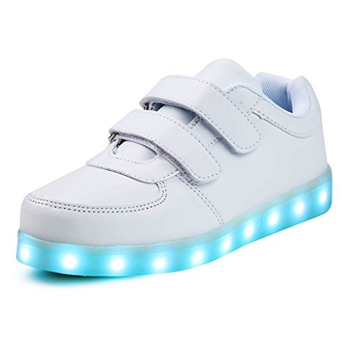 Saguaro Unisex Niños USB Carga LED Luz Luminosas Flash...