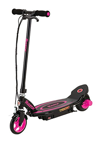 Razor Power Core E90 Scooter eléctrico, Girl, Rosa, 0