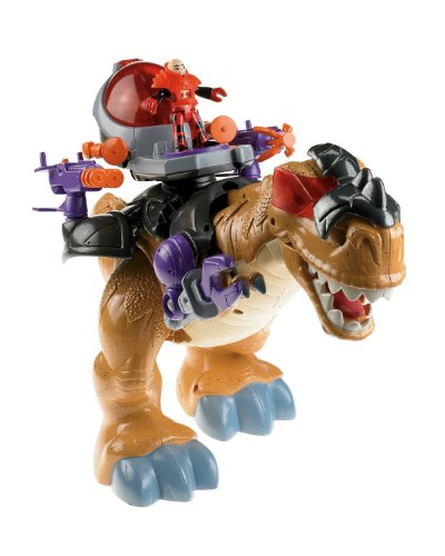 Fisher-Price - Imaginext Niños Mega T-Rex Playset...