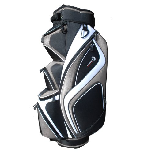 Asbri Golf XP14 Cart - Bolsa, Color Plateado