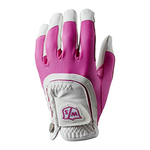 Wilson Golf Guantes W/S Fits All, Para Mujer, Mano...