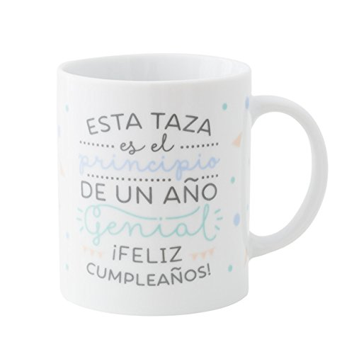 Mr. Wonderful Taza es el Principio de un año Genial...