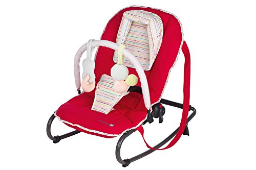 Safety 1st Moony Bouncer - Silla mecedora, color rojo