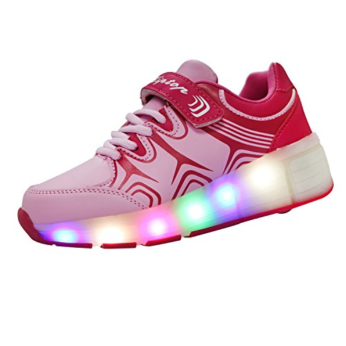 KIPTOP Zapatillas Deportivas con luces LED...