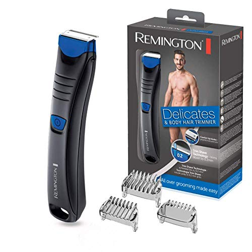 Remington BHT250 Delicates - Afeitadora Corporal,...