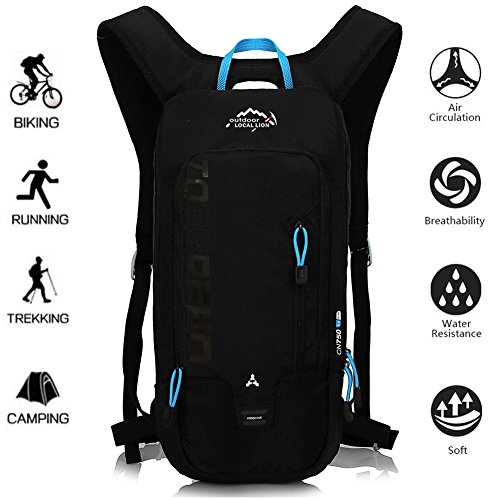 OUTDOOR LOCAL LION 10L Mochilas de Hidratacion Ciclismo...