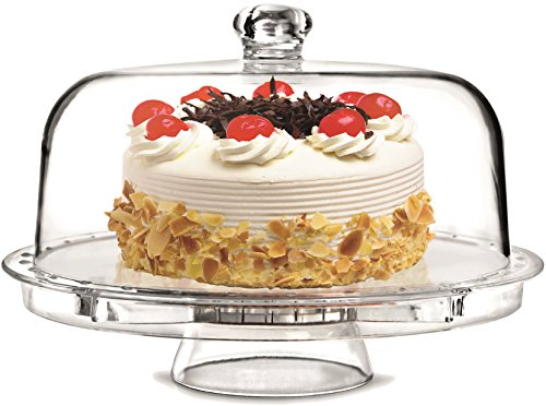 Rammento Multifunctional 5 in 1 Cake Stand and Dome....