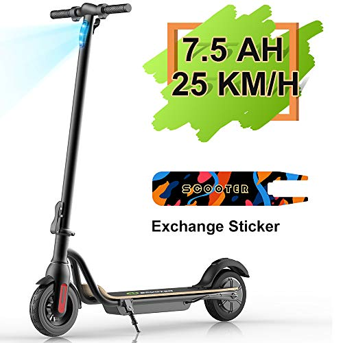 M MEGAWHEELS Scooter - Patinete eléctrico Plegable,...