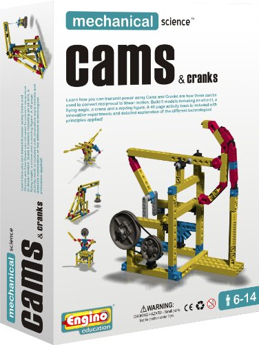 Engino Mechanical Science: Cams & Cranks by Engino