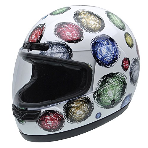 NZI 050268G407 Class Jr Graphics Scribble Casco de...