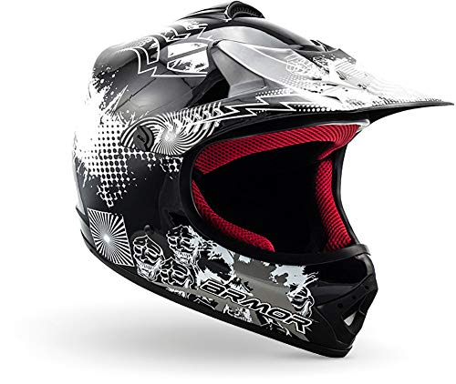ARMOR Helmets AKC-49 Casco Moto-Cross, DOT certificado,...