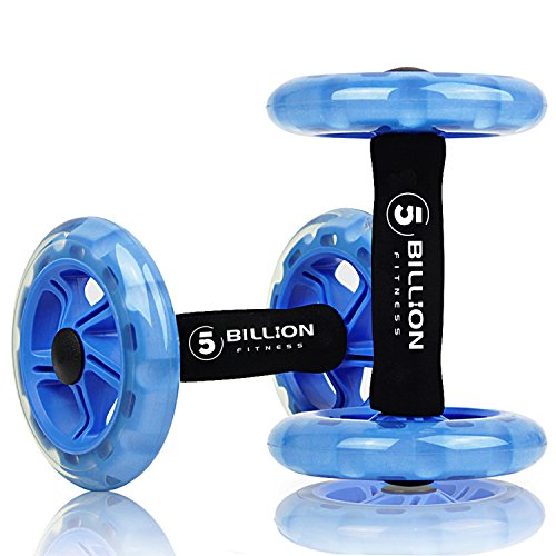 5BILLION Ab wheel Roller & Rueda Abdominal - Double Ab...