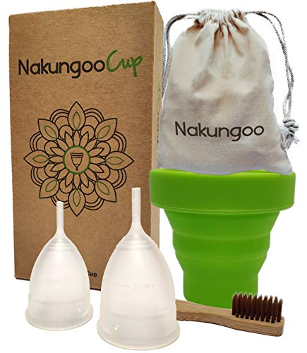 NakungooCup Copa Menstrual Kit Suave Organica...